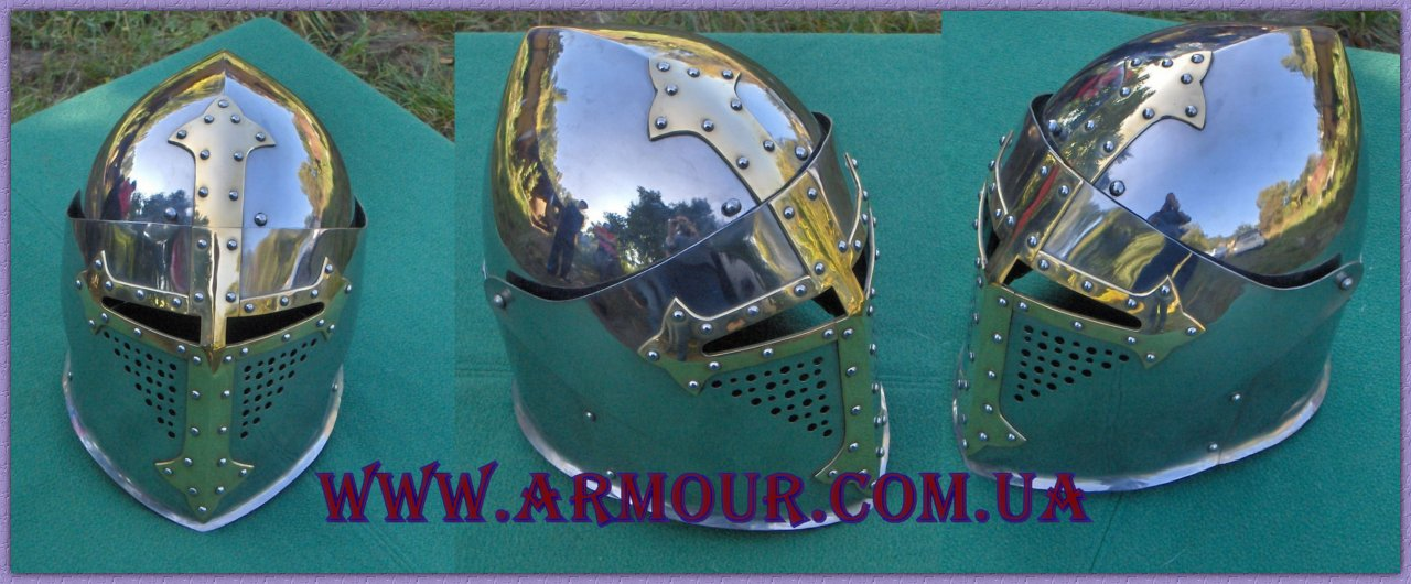 """Sugarloaf helm""Bascinet (бацинет ""Сахарная голова"")-model3"