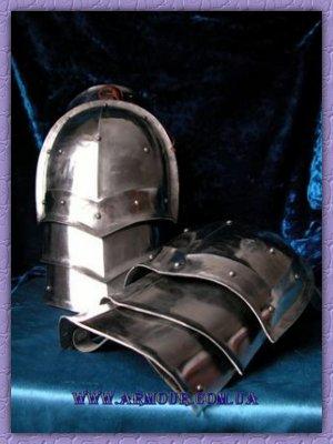 рыцарские плечи модель 1.1